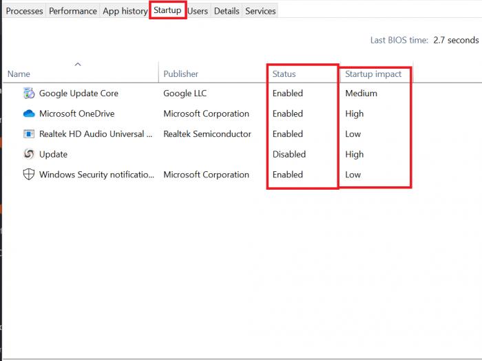 Cách Tắt các chương trình khởi động cùng Windows 10 72